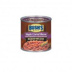 Bush's baked beans maple & cured bacn 454G
