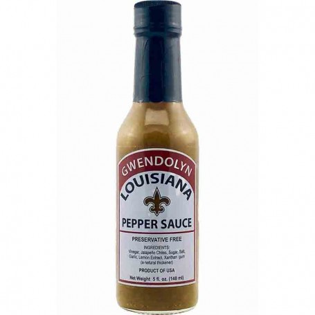 Gwendolyn louisiana green pepper sauce