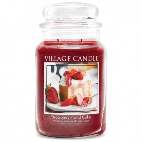VC Grande jarre strawberry pound cake