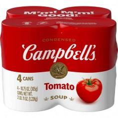 Campbells' tomato soup (par 4)