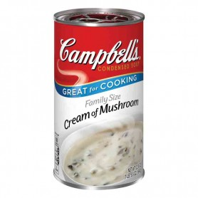 Campbells' cream of mushroom family size