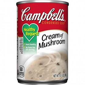 Campbells' cream of mushroom healthy request