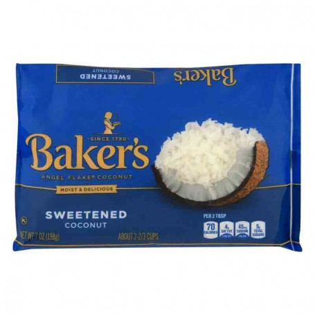 Baker's angel flakes coconut PM