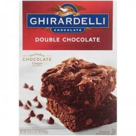 Ghirardelli double chocolate brownie mix