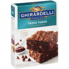 Ghirardelli triple fudge brownie mix