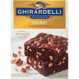 Ghirardelli walnut brownie mix
