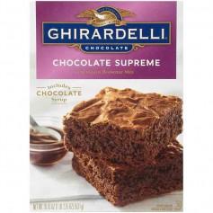 Ghirardelli chocolate supreme brownie mix