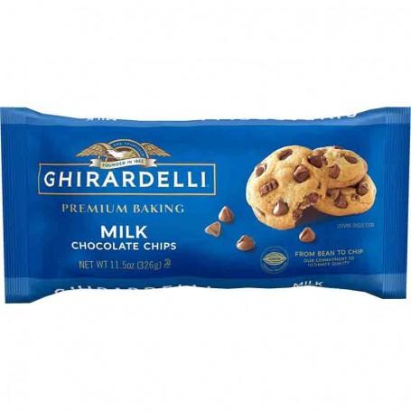 Ghirardelli milk chocolate baking chips
