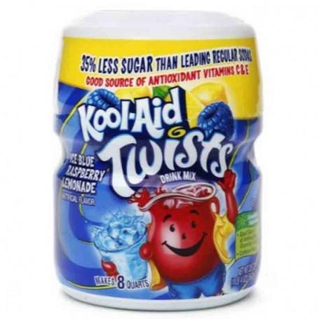 Kool-aid ice blue raspeberry lemonade