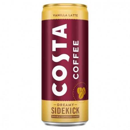 Costa coffee vanilla latte