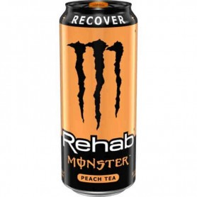 Monster rehab peach tea