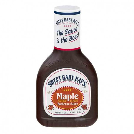 Sweet baby ray's maple BBQ sauce 510G