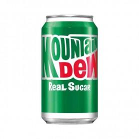 Mountain dew real sugar