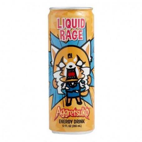 Liquid rage aggretsuko energy drink