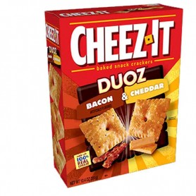 Cheez it duoz bacon and cheddar