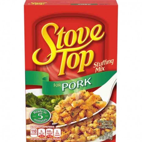 Stove top stuffing mix for pork