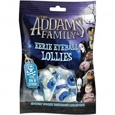 The adams family eerie eyeball lollies