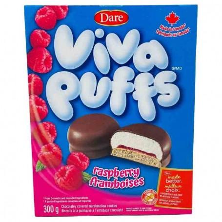 Dare viva puffs raspberry
