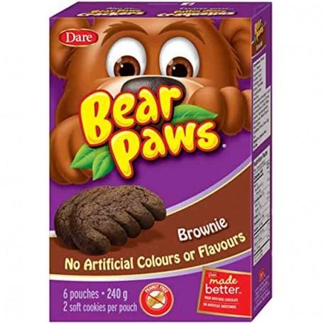 Dare bear paws brownie