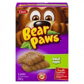Dare bear paws baked apple