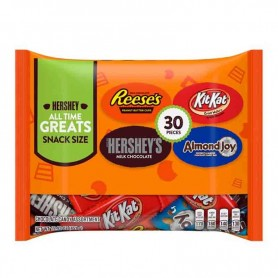 Hershey's all time greats snack size 30 pieces