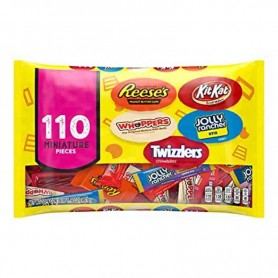 Hershey's all time greats snack size 110 pieces