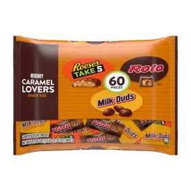 Hershey's caramel lovers snack size 60 pieces