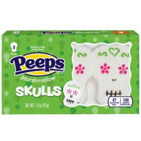 Pepps marshamallow skulls (3 pieces)
