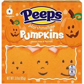 Peeps marshmallow pumpkins (6 pieces)
