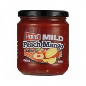 Herr's mild peach mango salsa