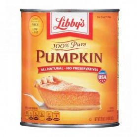 Libby's 100% pure pumpkin 822G