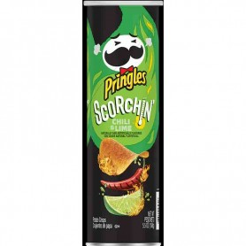 Pringles scorchin chili and lime
