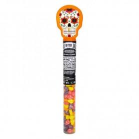 Day of the dead skull tube