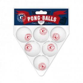 6 pong balls