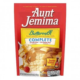 Aunt jemima buttermilk pancakes mix 170G