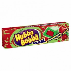 Hubba bubba bubble gum max strawberry watermelon