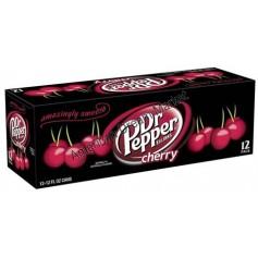 Dr Pepper Cherry Soda à la cerise pack 12