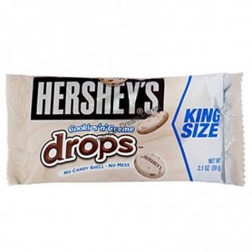Hershey cookie'n'creme drop king size