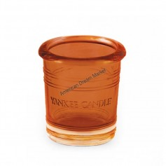 Support votive bucket orange plash