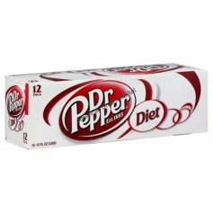 Dr Pepper diet X12