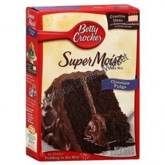 Betty Crocker super moist cake mix chocolate fudge