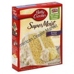 Betty Crocker super moist cake mix french vanilla