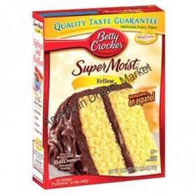 Betty Crocker super moist cake mix yellow