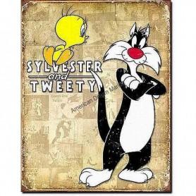 Tweety and sylvestre retro