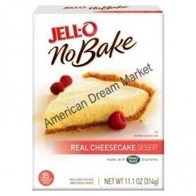 Jell-O no bake real cheese cake