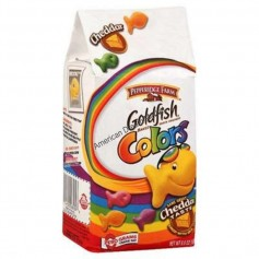 Goldfish cheddar colors