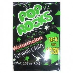 Pop Rocks watermelon popping candy