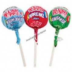 Brain blasterz mega sour lollipop apple