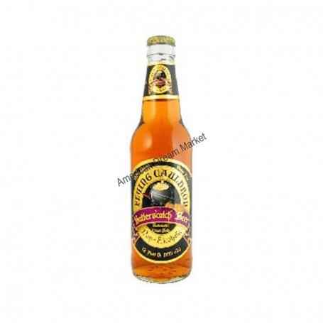 Flying cauldon butterscotch beer
