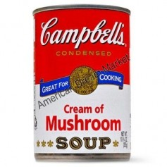 Campbells' cream of mushroom